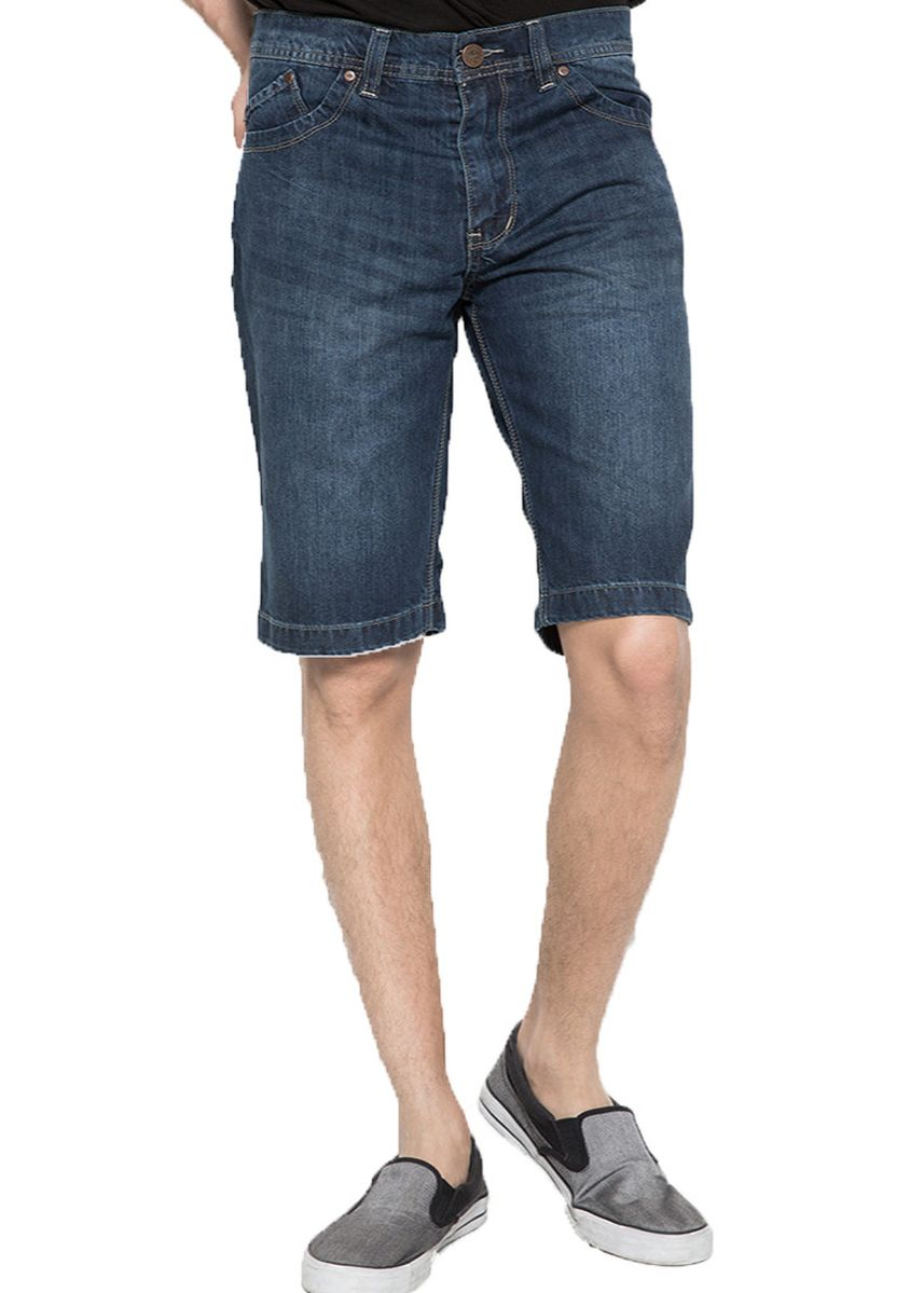 Navy color Shorts & 3/4ths . 2Nd RED Jeans Shorts Denim Murah Best Price BP905 -