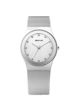 Silver color Analog . Classic 12924-000 Silver 27 mm Women's Watch -
