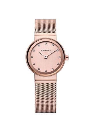 Pink color Analog . Classic 10122-366 Rose-Gold Dial 22 mm Women's Watch -