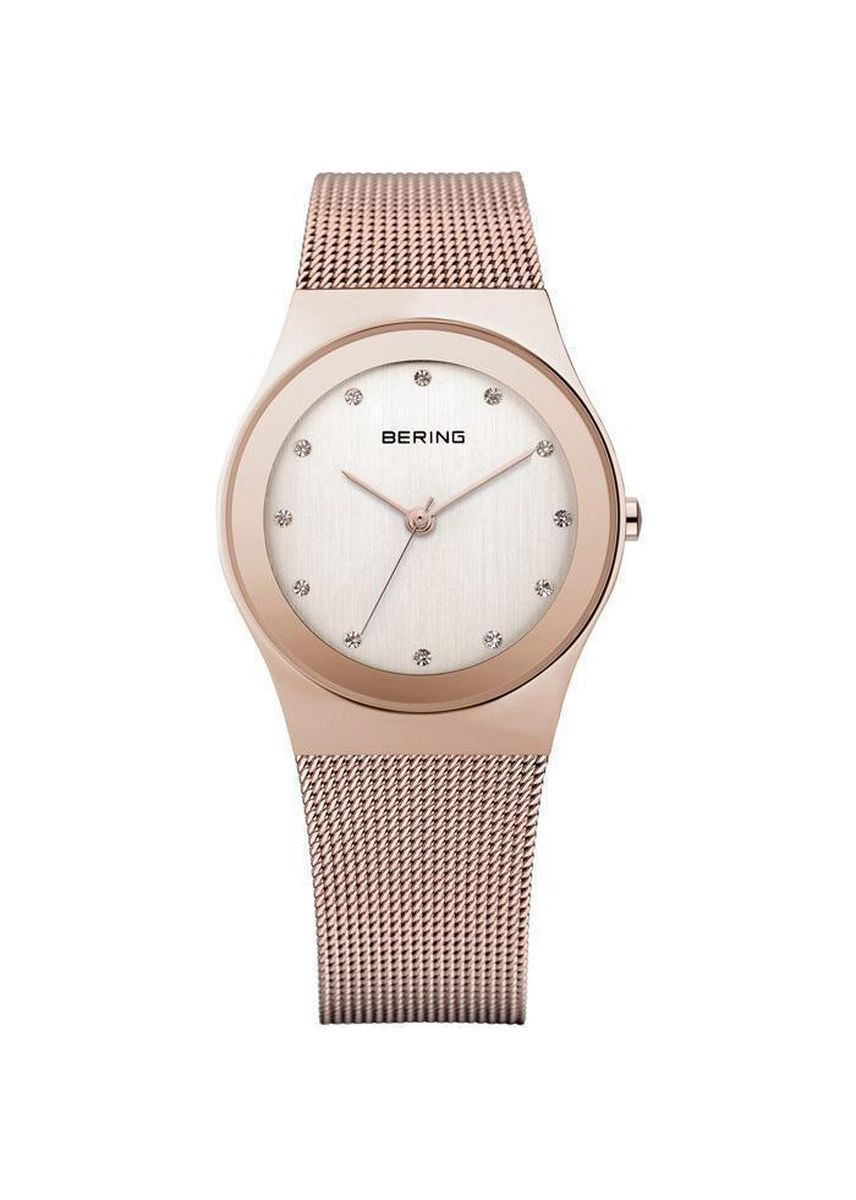 Pink color Analog . Classic 12927-366 Rose-Gold 27 mm Women's Watch -