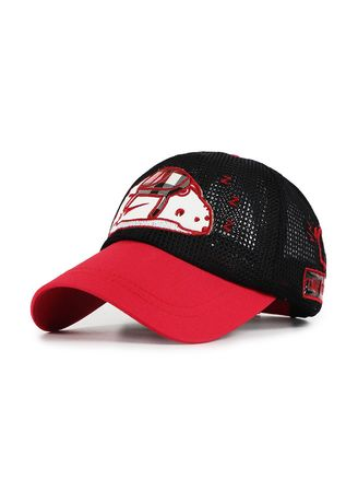 . Children's Cartoon Embroidered Baseball Cap With Sunscreen Breathable -