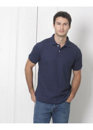 Navy color T-Shirts and Polos . Men's People's Pride  Polo Shirt (Navy Blue) -