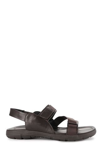 Brown color Sandals and Slippers . ANDREW - CLEON -