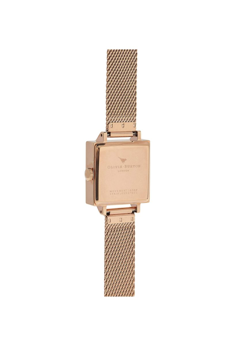 Pink color Analog . Moulded Bee Rose-Gold 22.5 Mm Women's Watch -