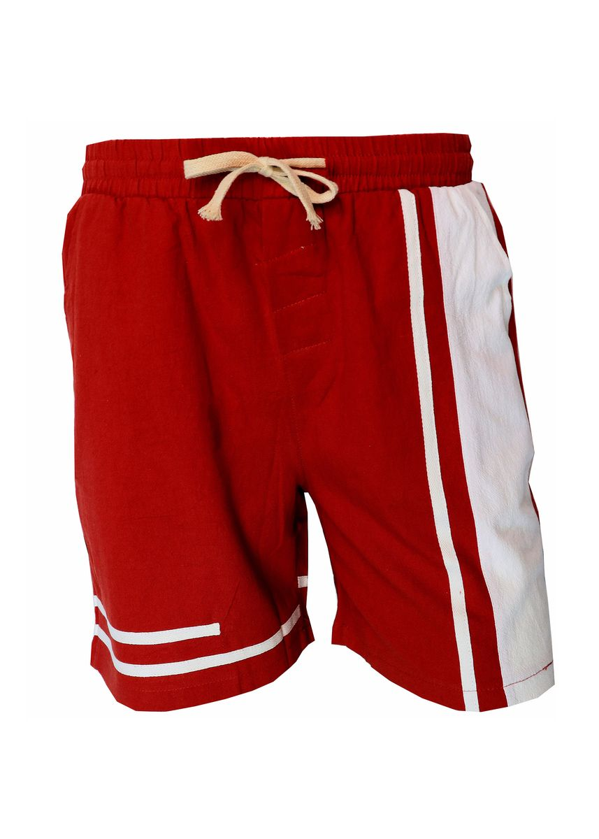 Red color Shorts & 3/4ths . Mogao Men's Casual Shorts -
