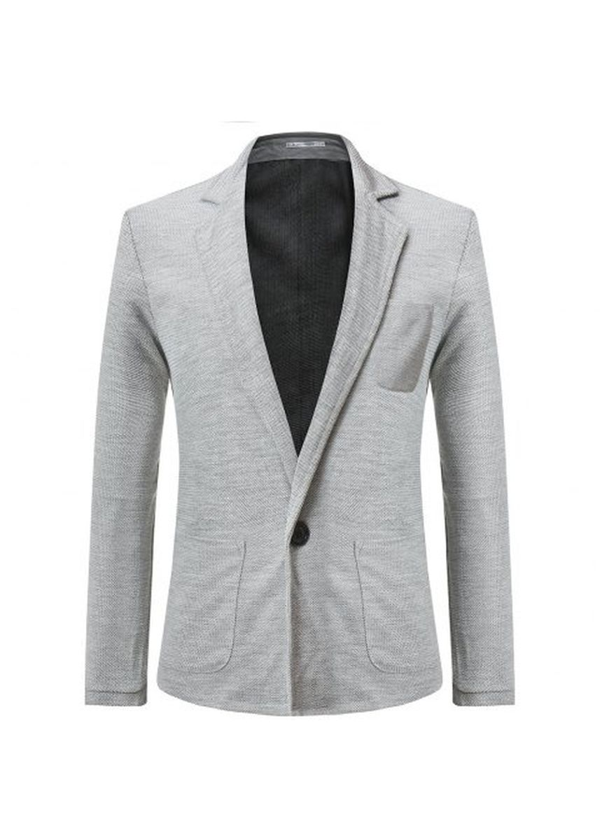 Light Grey color Jackets . New Trend One Button Short Paragraph Small Blazer -