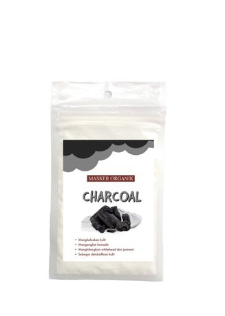 No Color color Masks . masker organik charcoal -