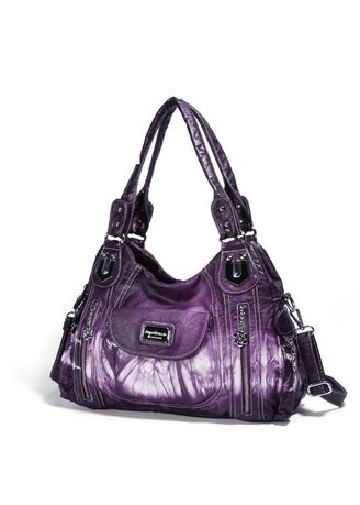 Sling Bags . Women'S Dyeing Large Capacity Shoulder Bag -