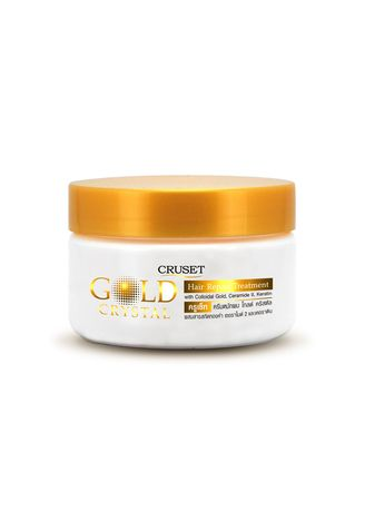 No Color color Treatments . Cruset Gold Crystal Hair Repair Treatment 250ml. -