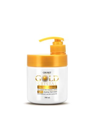No Color color Treatments . Cruset Gold Crystal Hair Repair Treatment 500ml. -