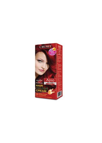 Styling . Cruset Hair Colour Cream A Series 60 ml. A 910 Red Wine -
