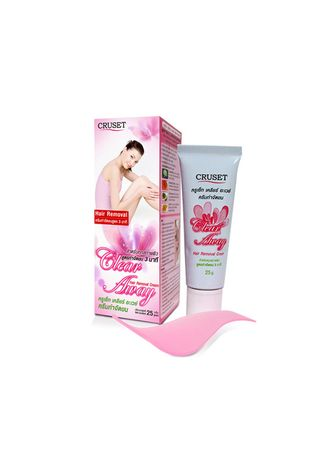 No Color color Personal Care . Cruset Clear Away Hair Removal Cream 25g. -