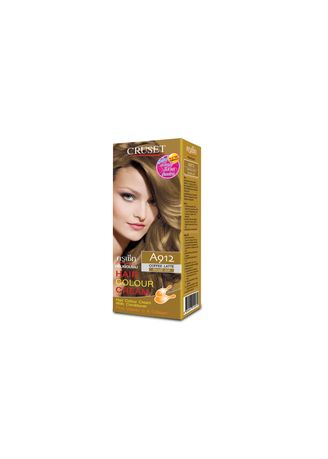 No Color color Styling . Cruset Hair Colour Cream A Series 60 ml. A 912 Coffee latte -