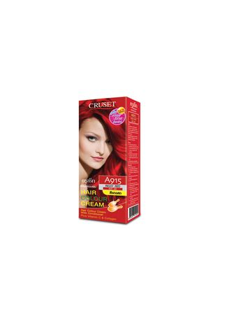 No Color color Styling . Cruset Hair Colour Cream A Series 60 ml. A 915 Richy Red -