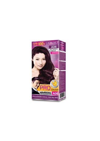 No Color color Styling . Cruset PRO Colour Hair Colour Cream 100 ml. A06 Rich Magenta -