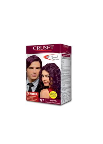 No Color color Styling . Cruset Hi-Speed Hair Colour 45 g. S7 Burgnudy -