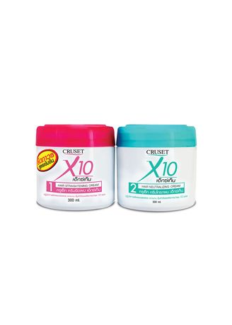 No Color color Styling . Cruset X10 Hair Straightening  300 ml. -