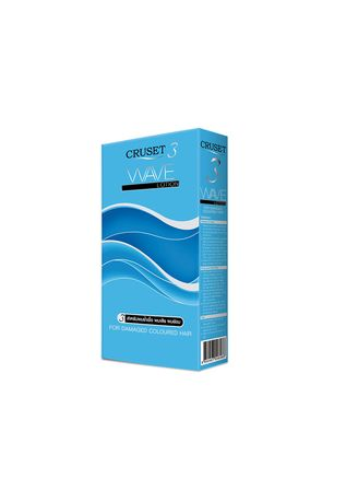 No Color color Styling . Cruset Wave Lotion For Damaged Coloured Hair -