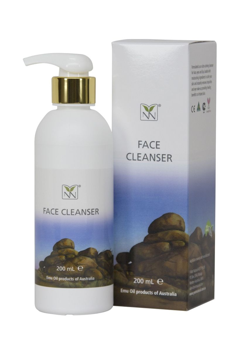 No Color color Face Wash . YNN Natural Soothing Face Cleanser (200ml) -