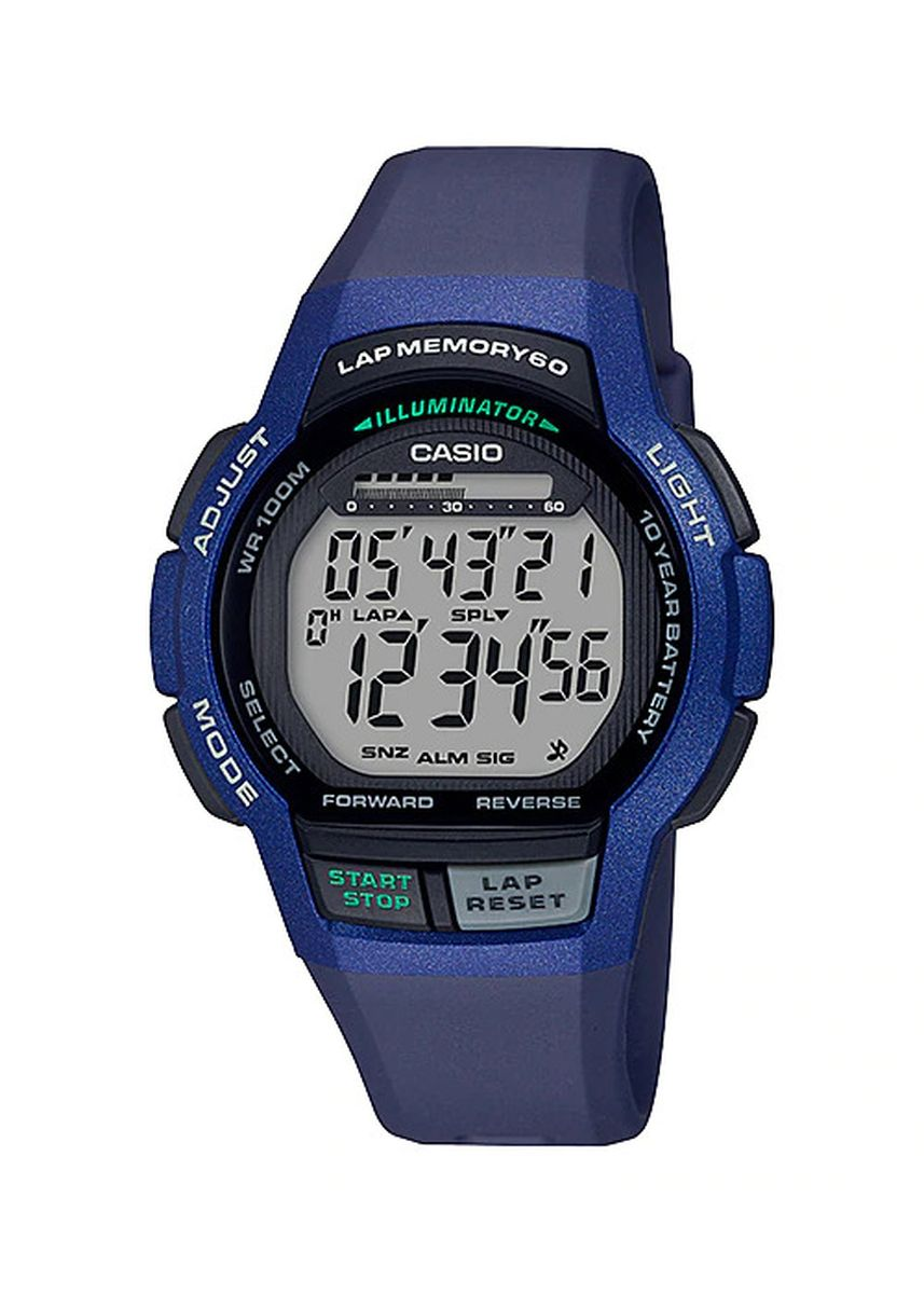 Blue color Digital . Casio Men's Digital Watch -
