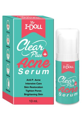 No Color color Moisturizers . I-Doll Acne Serum -