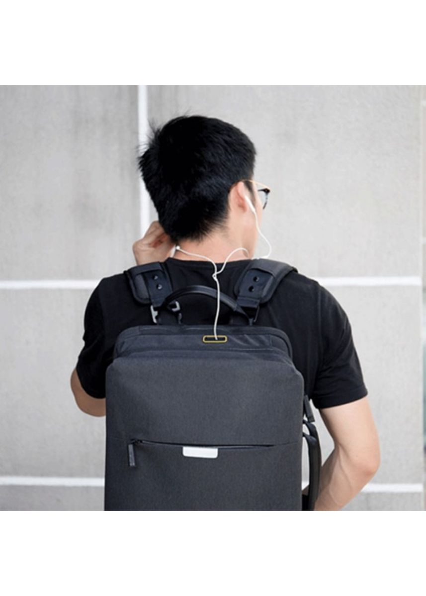 Black color Backpacks . WIWU WB104 - ODYSSEY Series - 15.6 inch Casual Laptop Backpack -