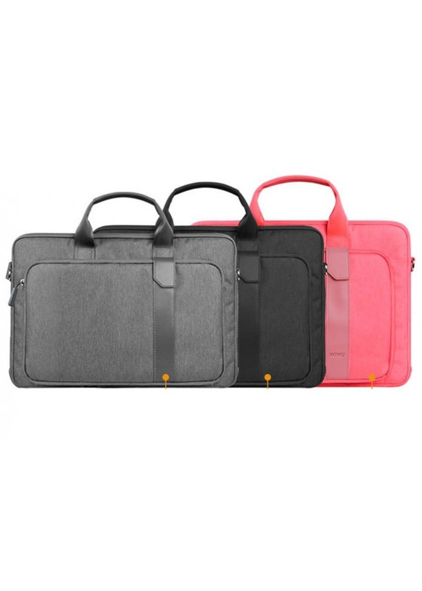 Pink color Duffle Bags . WIWU GM4100 - PIONEER Series - 15.6 inch Decompression Computer Bag Pink -