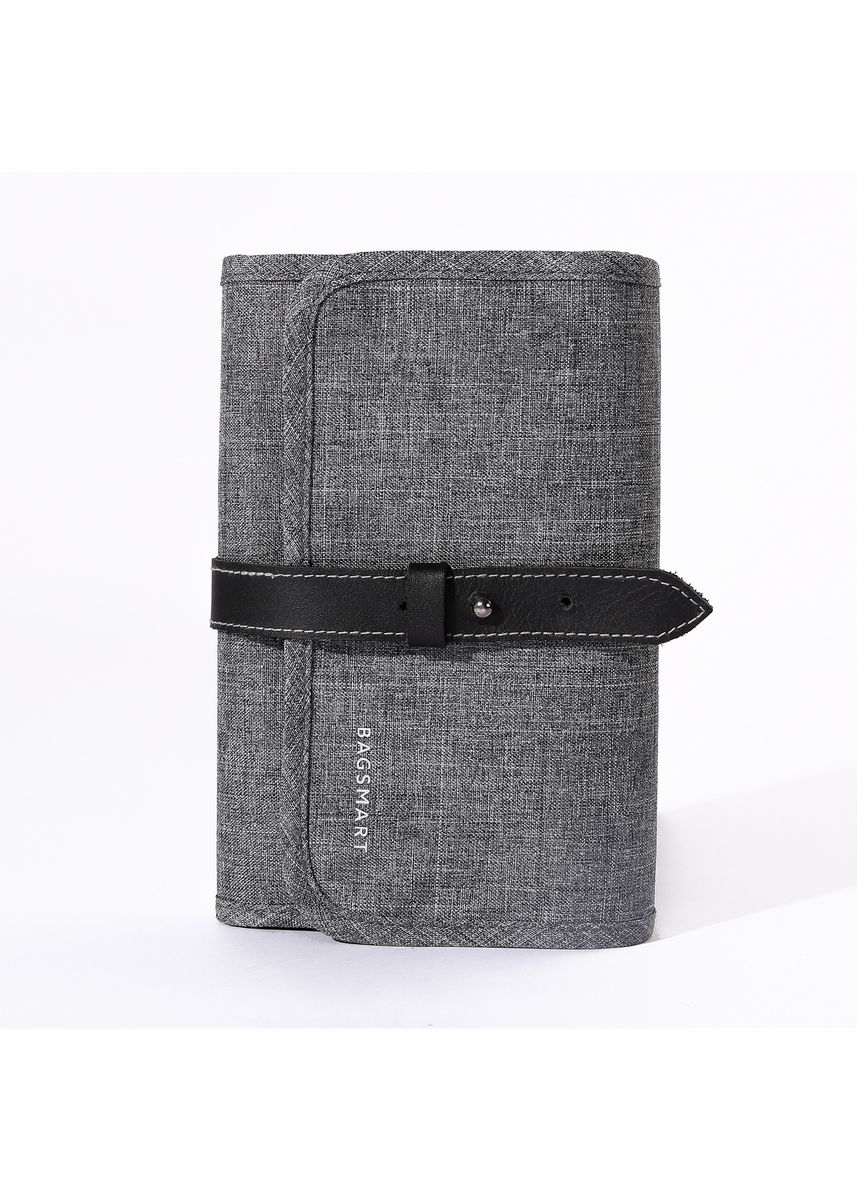 Light Grey color Travel Wallets & Organizers . Bagsmart Travel Cable Organizer -