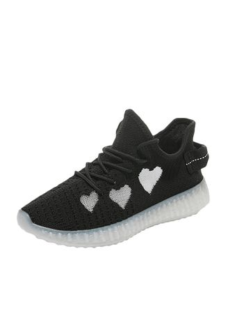 Black color Sports Shoes . Women's Fashion Air Athletic Sneaker Casual Shoes -