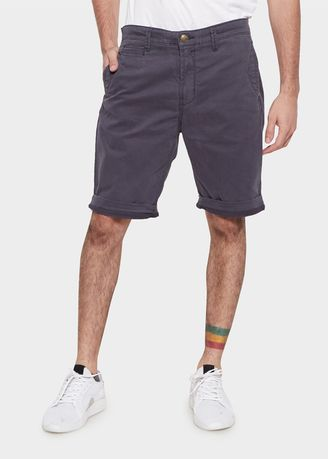 Navy color Shorts & 3/4ths . Emba Jeans Geoges Short Pants in Blue Night -