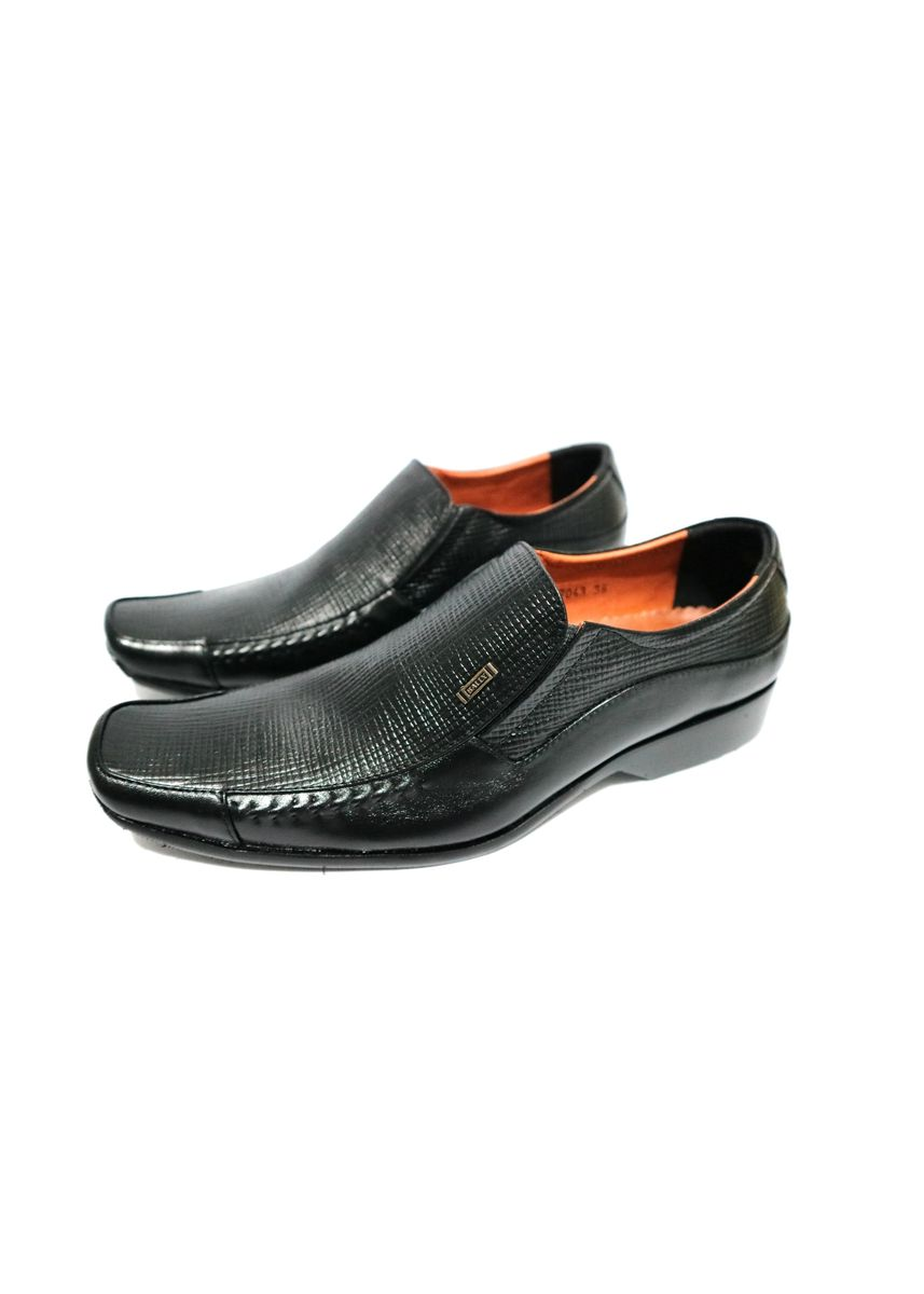 Black color Formal Shoes . SEPATU PANTOPEL KULIT ASLI  -