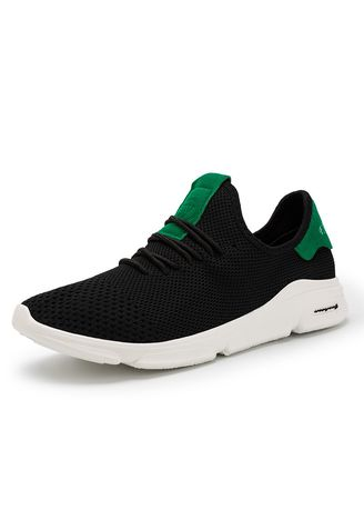 Green color Sports Shoes . Men's Trainers Fitness Running Shoes  -