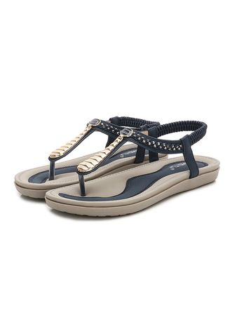 Navy color Sandals and Slippers . Simple  Casual Sandals -