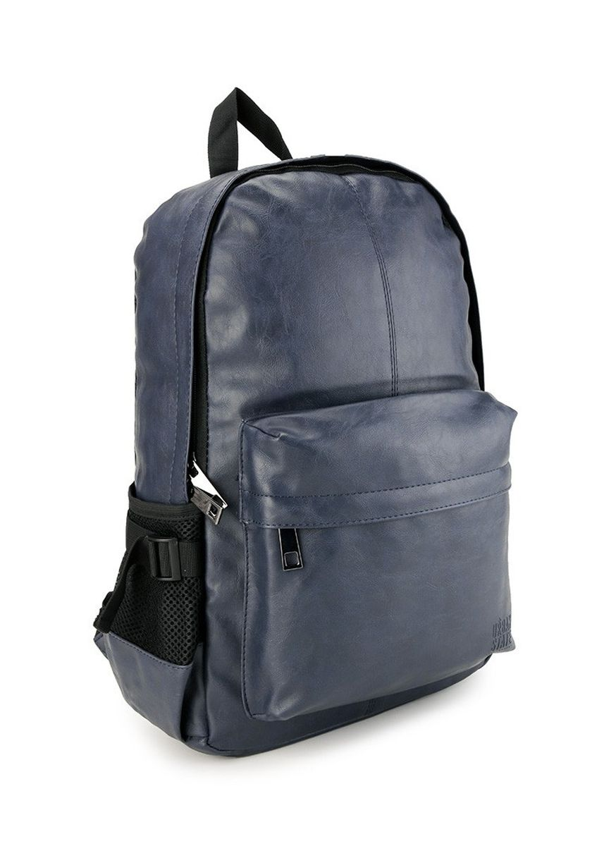 Navy color Backpacks . Urban State - Distressed Leather Mesh Backpack -