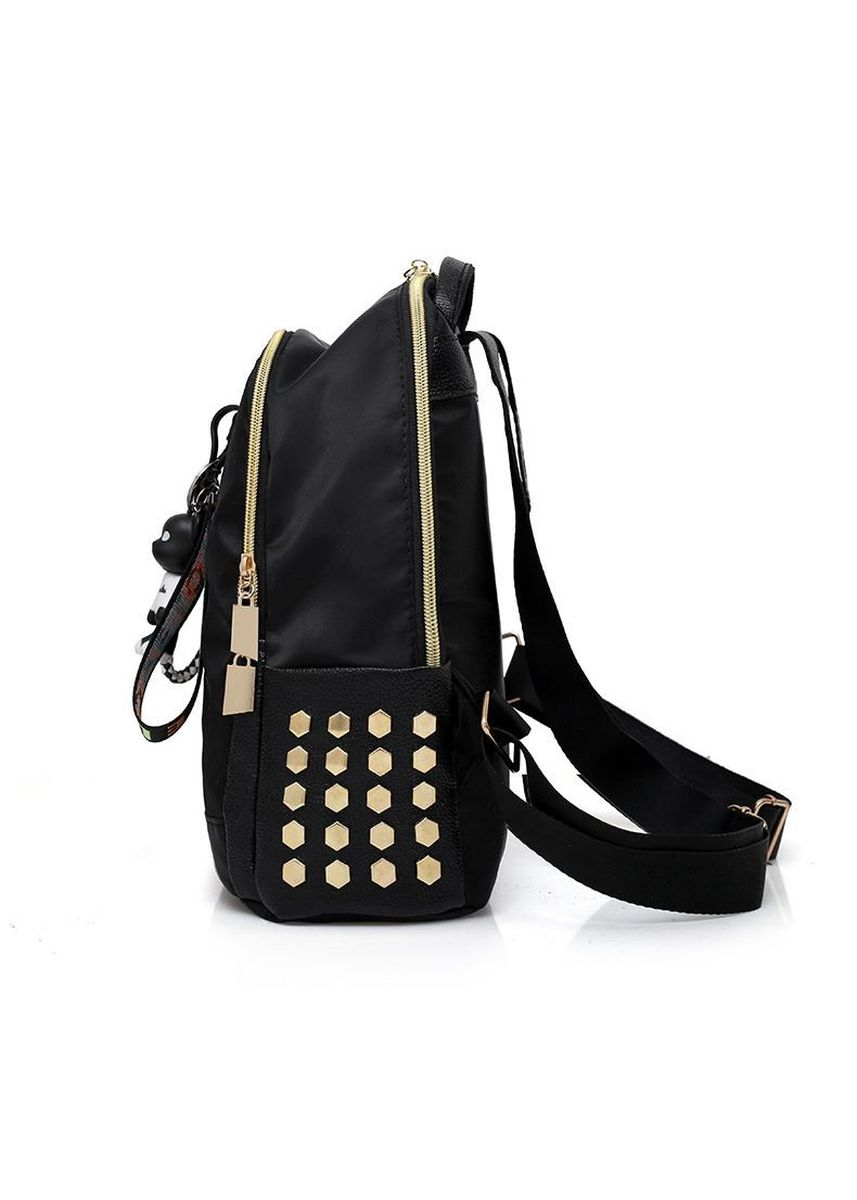 Black color Backpacks . Waterproof Oxford Cloth Casual Lady's Backpack -