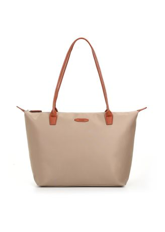 Tan color Hand Bags . Ecosusi Women's Shoulder Tote Bag With Small Purse -