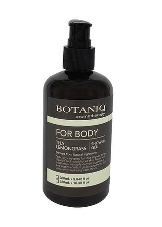 No Color color Body Wash . Botaniq Thai Lemongrass Bath Gel -