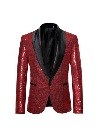 Mens Slim Fit Dinner Party Wedding Blazer Suit | Men's Suits