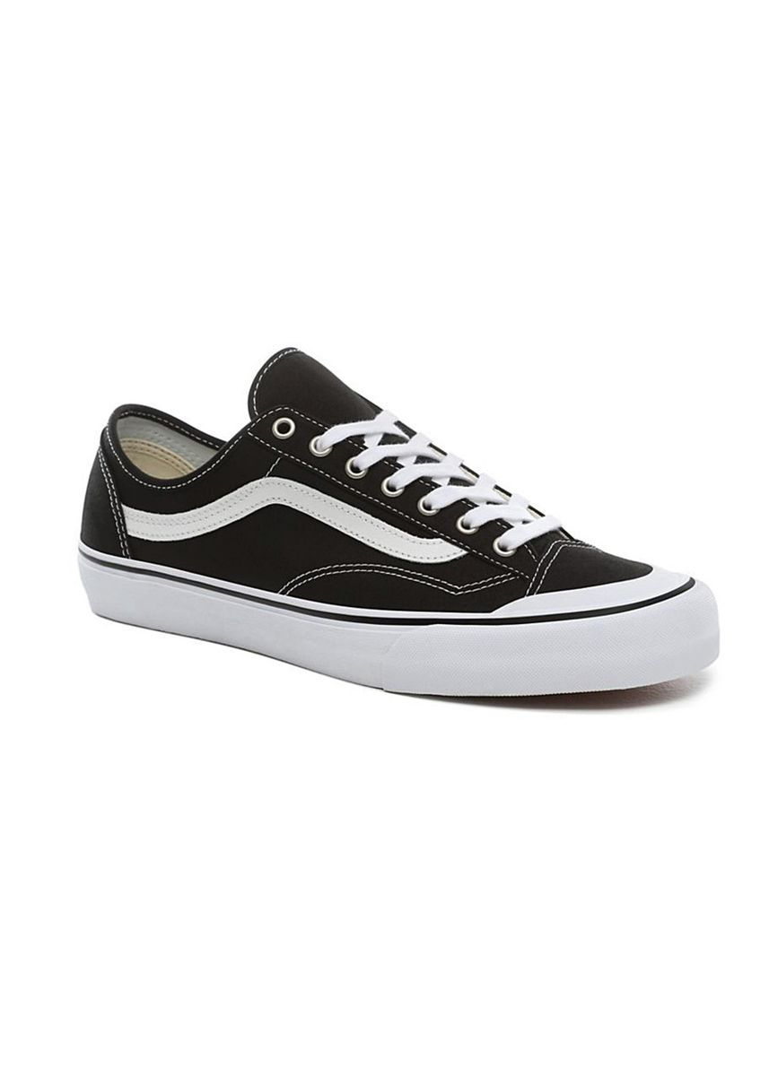 Black color Casual Shoes . Vans รองเท้า Style 36(Old Skool) Decon Sf รุ่น VN0A3MVLY28 (Black/White) -
