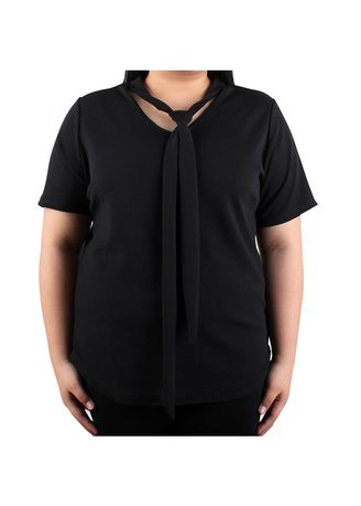 Tops and Tunics . Timeless Manila Pandora Blouse With Tie -