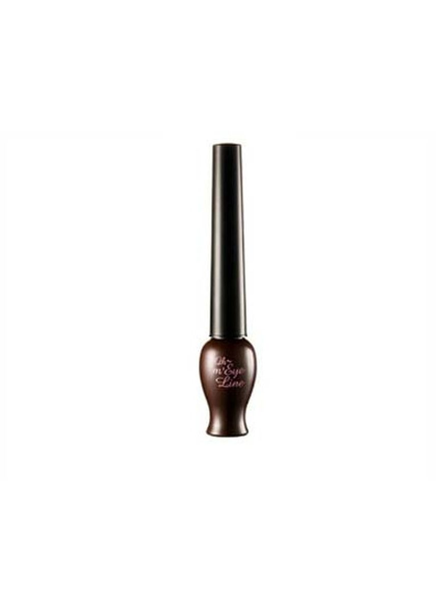 Brown color Eyes . Etude House Oh My Eye Liner -