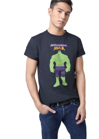 Black color T-Shirts and Polos . Official The Incredible Avenger T-Shirt -