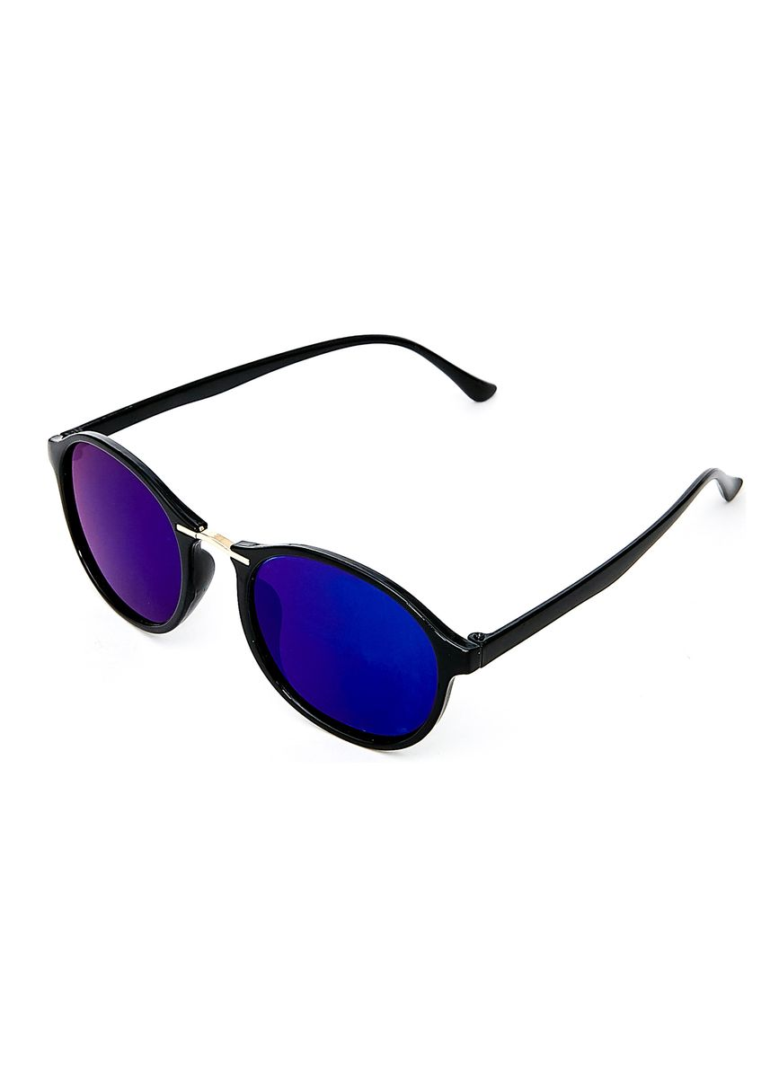Blue color Sunglasses . Atlas Apparel Round Sunglasses For Women -