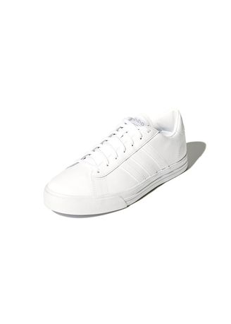 Casual Shoes . adidas รองเท้าผ้าใบชาย Cloudfoam Super Daily แท้ สี All White -
