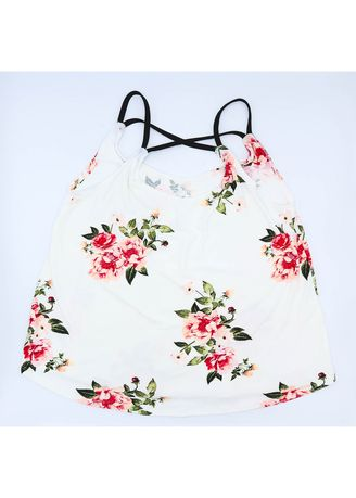 White color Tops and Tunics . AC & Co. Manila Prints Sexy Tops Printed Halter for women outfit Blouses Floral -