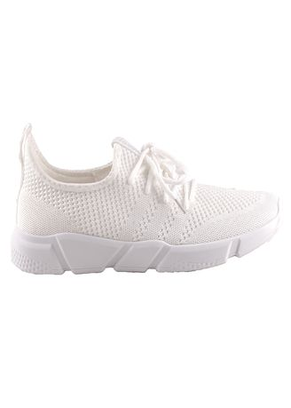 White color Casual Shoes . Jackson Mike 1SG White -