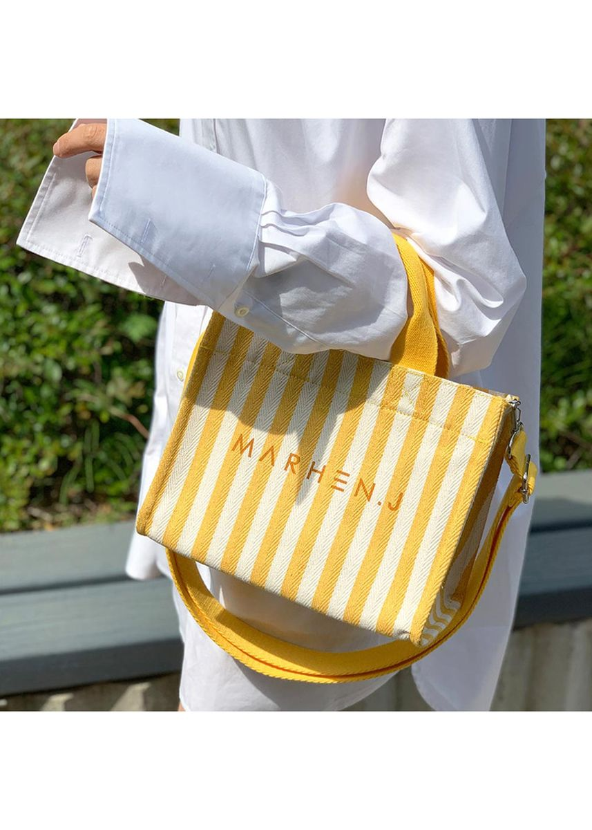 เหลือง color กระเป๋าถือ . Marhen.J Rico Mini Bag Lemon Yellow MJ19BRCOMNSTYE -