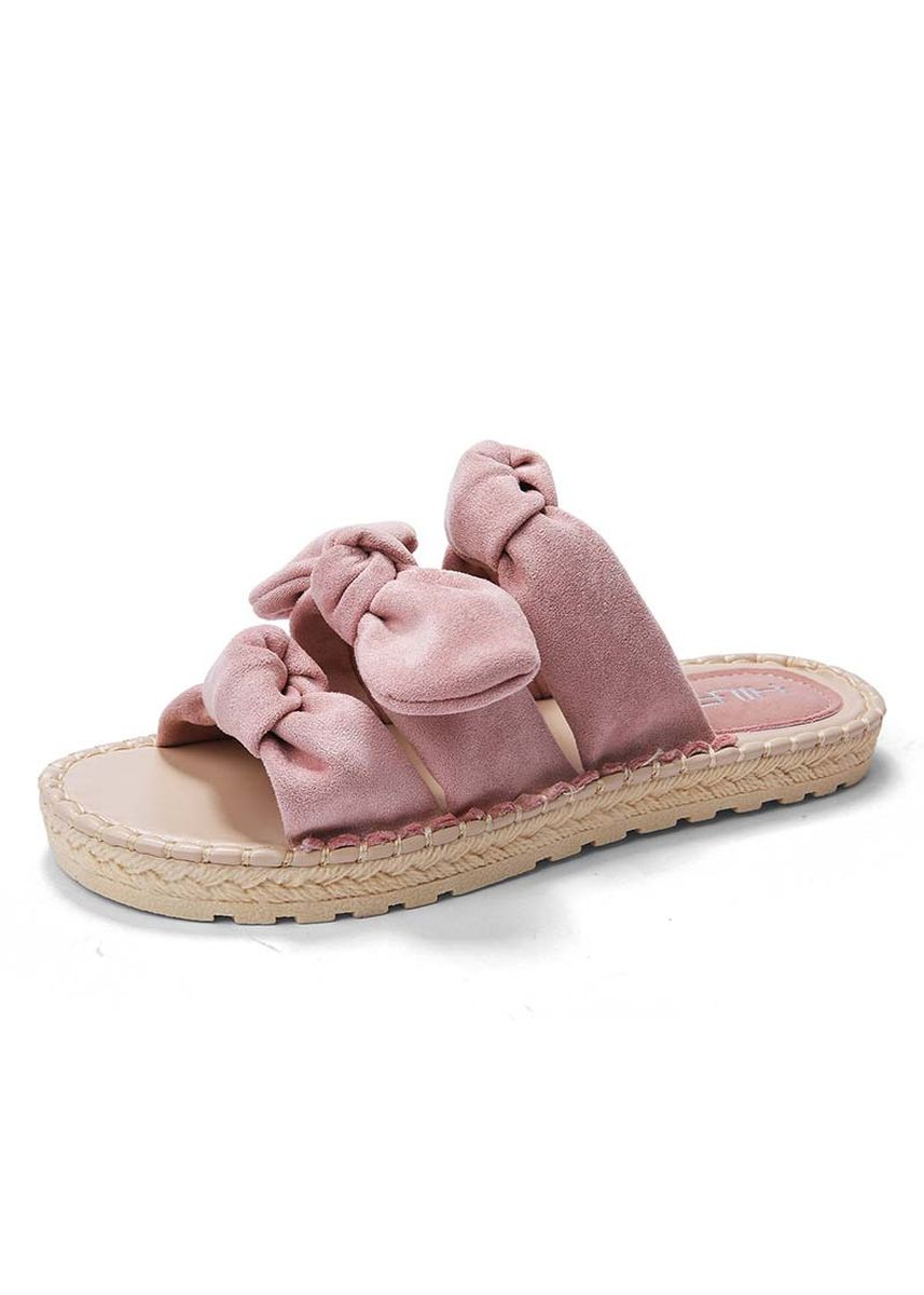 Pink color Sandals and Slippers . Women Sandals Beach Home Living for Girls -