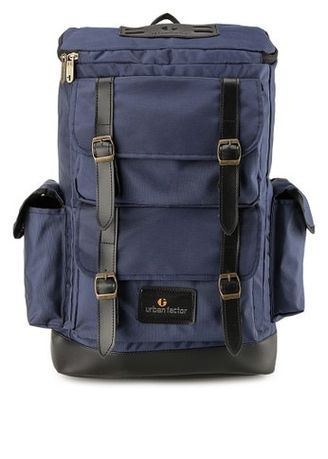 Blue color Backpacks . Urban Factor Backpack series SAVAGE -