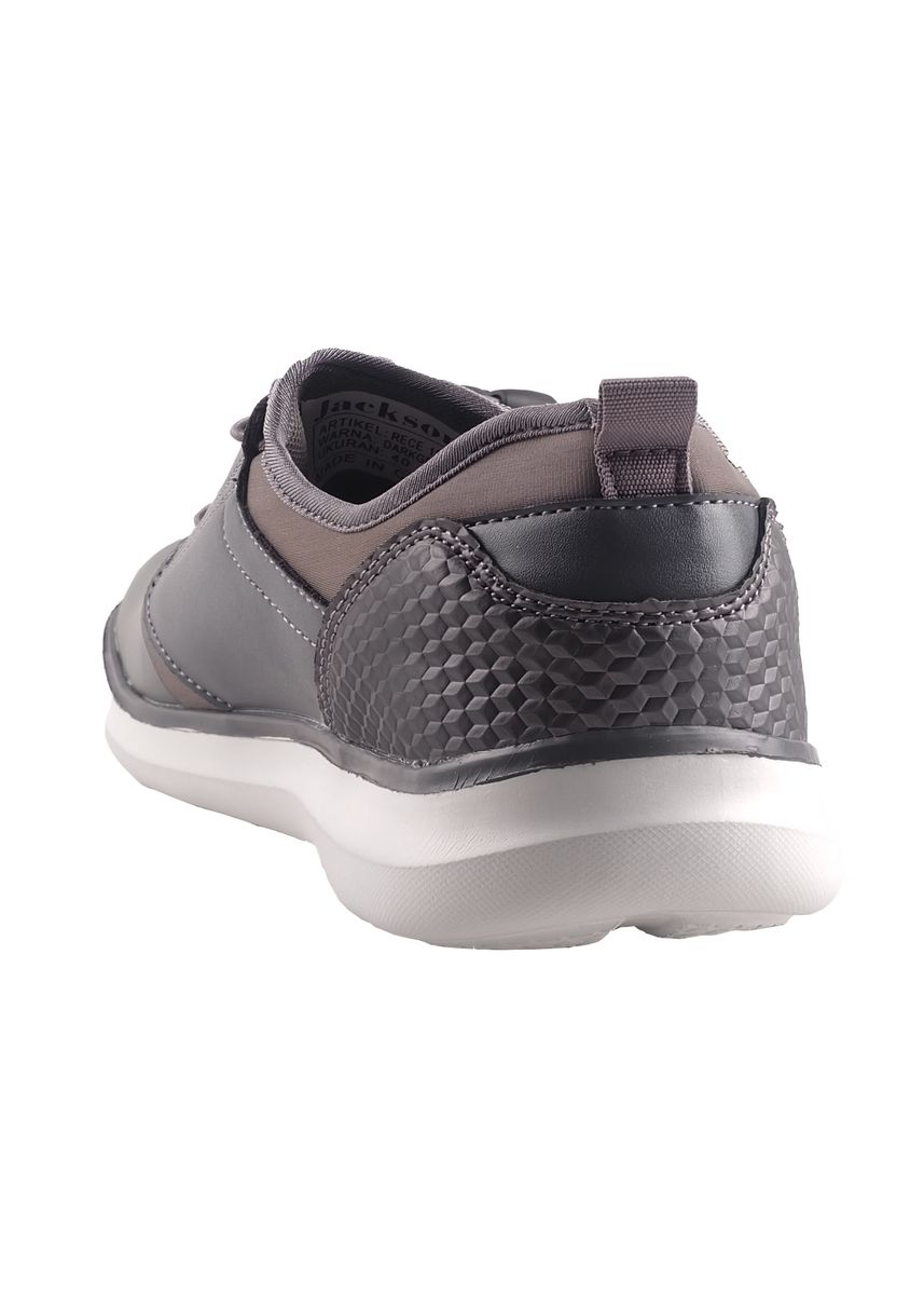 Grey color Casual Shoes . Jackson Rece 1SG Dark Grey -